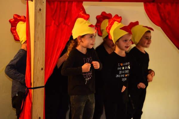 לכבוד הספר הראשון, ילדי גן תאטרון בחיפה העלו את ההצגה