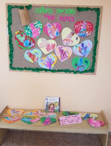 ילדי גן ויצו רפאל בקרית ביאליק עשו יצירה יפה בעקבות הספר